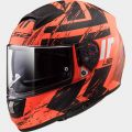 LS2 FF397 HUNTER matt orange black - L